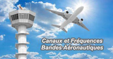 Canaux et Fréquences Bandes Aéronautiques