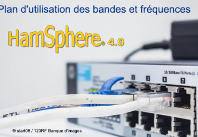 Plan d'utilisation des bandes et fréquences sur HamSphere V4