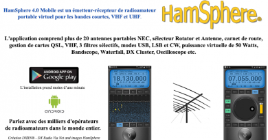 HamSphere V4 sur Android