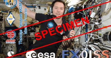 Mission PROXIMA – QSL Spéciale FX0ISS