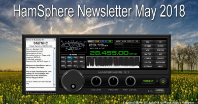 HamSphere – Newsletter Mai 2018