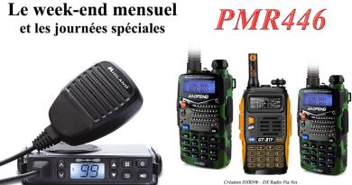 Le week-end mensuel PMR446