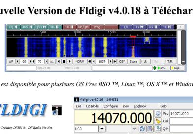 FLDIGI Version 4.0.18