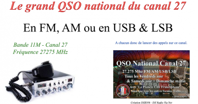 Le Grand QSO National du canal 27