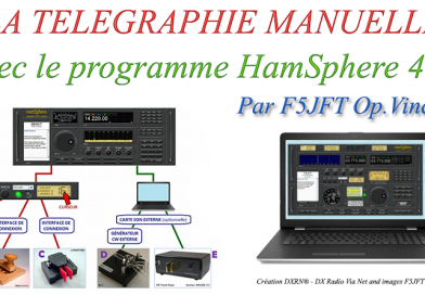 La télégraphie manuelle sur HamSphere V4
