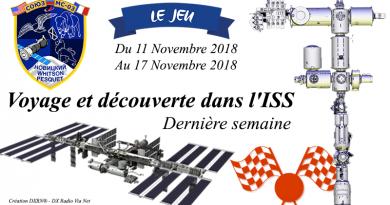 Voyage et découverte dans l'ISS – Semaine 4