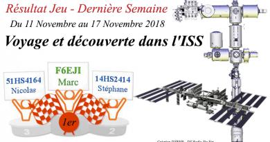Résultats – Voyage et découverte dans l'ISS – Semaine 4