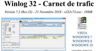 Winlog 32 – Carnet de trafic.