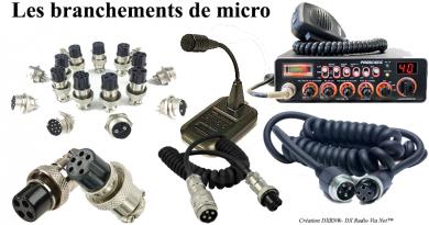 Les branchements de micro