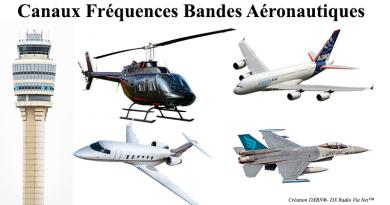 Canaux Fréquences Bandes Aéronautiques