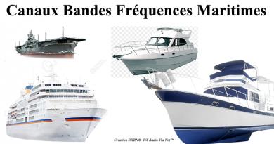 Canaux Bandes Fréquences Maritimes