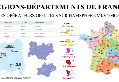 RÉGIONS-DÉPARTEMENTS DE FRANCE
