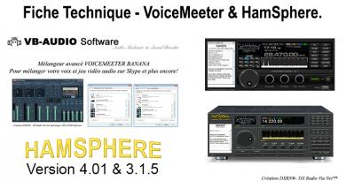 FICHE TECHNIQUE VOICE MEETER & HAMSPHERE