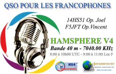 QSO FRANCOPHONE HAMSPHERE